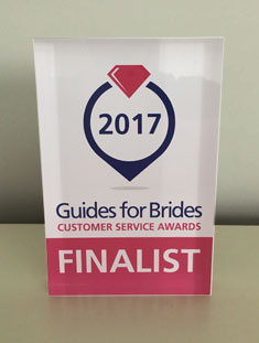 Guide for Brides, customer services award finalist
